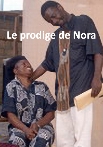 Scene of the play 'Le prodige de Nora'
