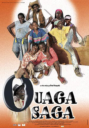Poster of the movie 'Ouaga Saga'
