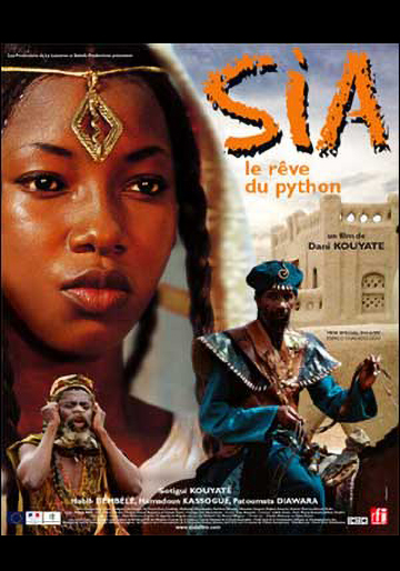 Poster of the movie 'Sia, le rêve du python'